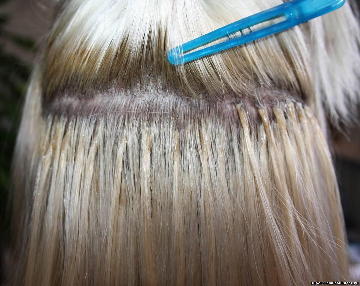 Виды наращивание волос и фото